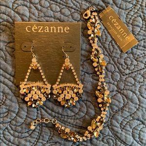 Cezanne ratings and bracelet set